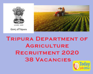 Tripura Department of Agriculture Recruitment
