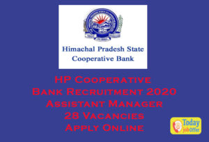 HP Cooperative Bank Recruitment