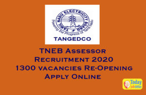 TNEB Assessor Recruitment