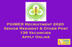 PGIMER Recruitment