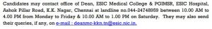 ESIC Recruitment 2020 - 210 Professor & Other Posts| Walk In Interview | @ www.esic.nic.in 1